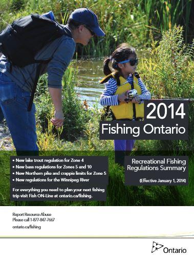 Kenora ontario fishing regulations for Ontario fishing license